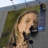 Advertising installation